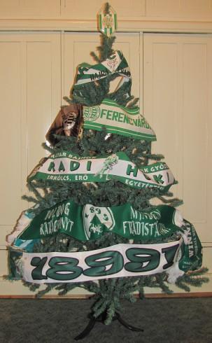 Fradi Karácsonyfa