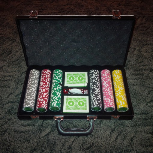 Unibet pókerszett