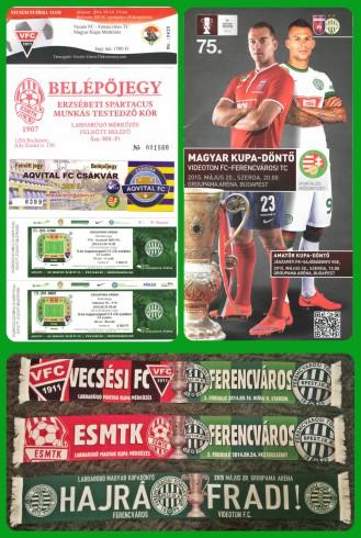 Magyar Kupa '14 / '15 - emlékek